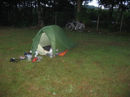Eerste camping Belgie